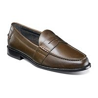 Nunn Bush Noah Men's Leather Penny Loafers