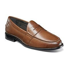 Nunn Bush Noah Men's Moc Toe Dress Penny Loafers