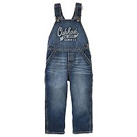 Baby Boy OshKosh B'gosh® Logo Denim Overalls