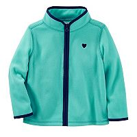 Toddler Girl OshKosh B'gosh® Fleece Zip Front Jacket