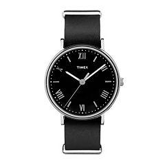 Timex Men's Southview Leather Watch - TW2R28600JT