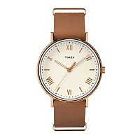 Timex Men's Southview Leather Watch - TW2R28800JT
