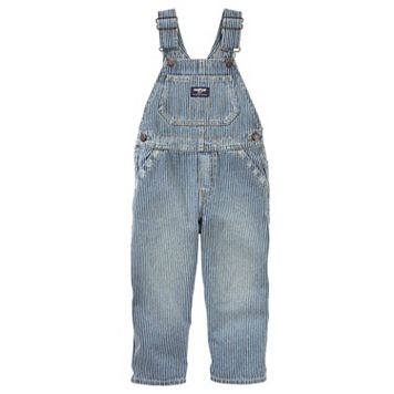Baby Boy OshKosh B'gosh® Striped Denim Overalls
