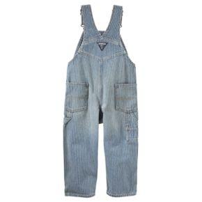Baby Boy OshKosh B'gosh® Striped Denim Overalls