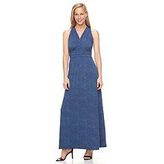 Women's Suite 7 Halter Maxi Dress