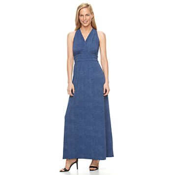 Women's Suite 7 Halter Maxi Dress