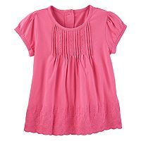 Toddler Girl OshKosh B'gosh® Eyelet & Embroidered Top