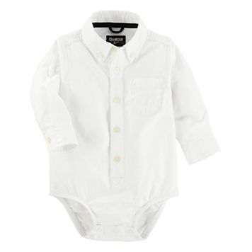Baby Boy OshKosh B'gosh® Uniform Button Down Bodysuit