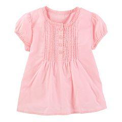 Toddler Girl  OshKosh B'gosh® Poplin Top