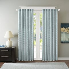 Madison Park 1-Panel Morris Jacquard Window Curtain