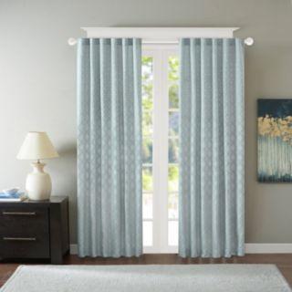 Madison Park 1-Panel Morris Jacquard Window Curtain