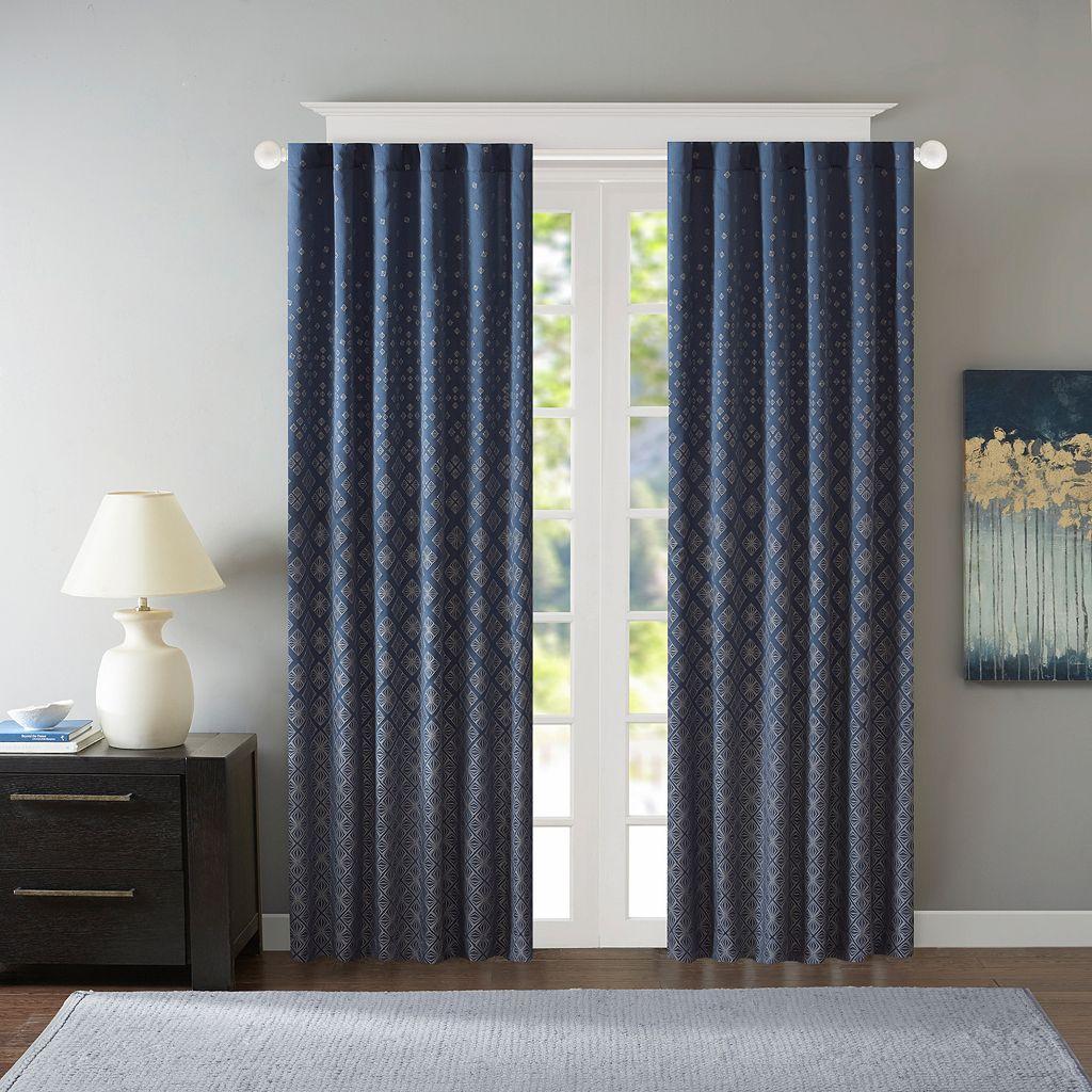 Madison Park Morris Jacquard Window Curtain