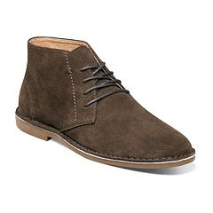 Nunn Bush Galloway Men's Suede Plain Toe Casual Chukka Boots
