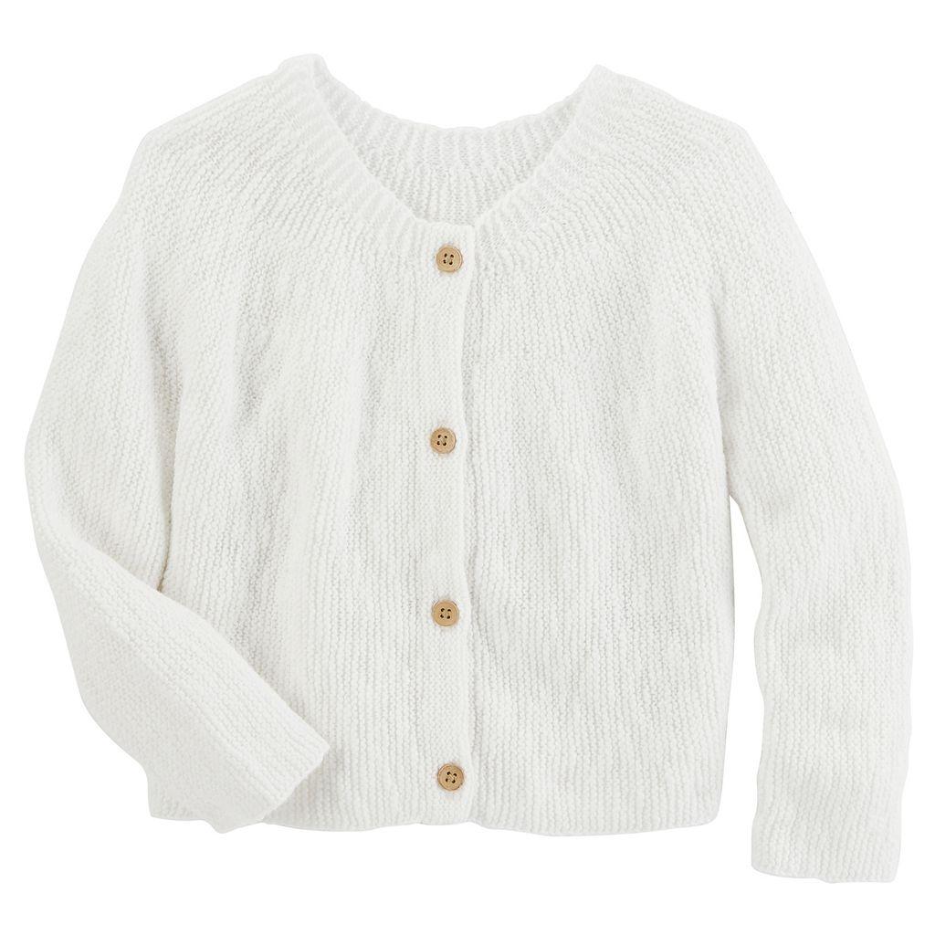 Toddler Girl OshKosh B'gosh® Sweater Knit Cardigan