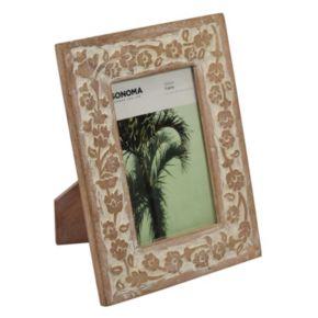 """SONOMA Goods for Life™ Carved 4"""" x 6"""" Frame"""