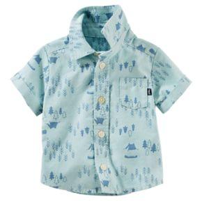Baby Boy OshKosh B'gosh® Woodland Shirt