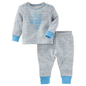 "Baby Boy OshKosh B'gosh® ""Life is Wonderful!"" Top & Pants Set"