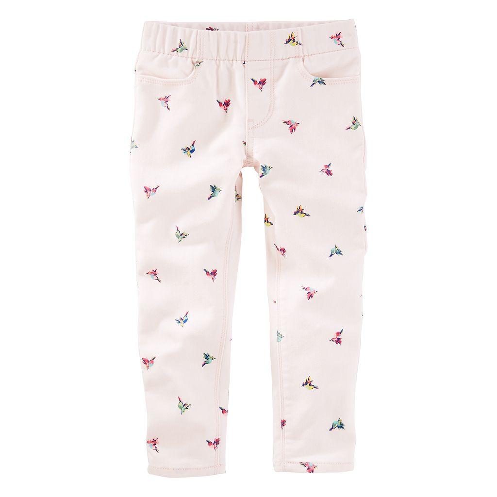 Toddler Girl OshKosh B'gosh® Bird Twill Pants
