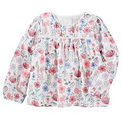 Toddler Girl OshKosh B'gosh® Floral Woven Top