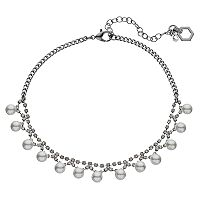Simply Vera Vera Wang Simulated Pearl Choker Necklace