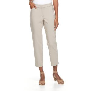 Women's Dana Buchman Straight-Leg Ankle Pants