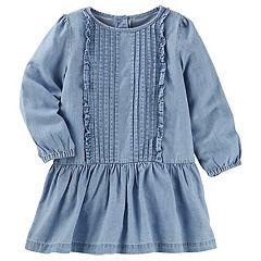 Toddler Girl OshKosh B'gosh® Drop Waist Chambray Dress