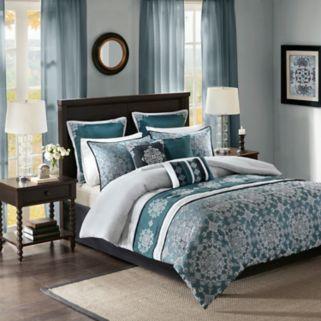Madison Park 9-piece Everett Jacquard Comforter Set