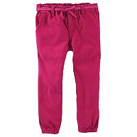 Toddler Girl OshKosh B'gosh® Tapered Woven Pants