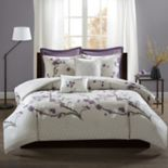 Madison Park 7-piece Isabella Duvet Cover Set