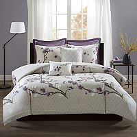 Madison Park 7 pc Isabella Duvet Cover Set