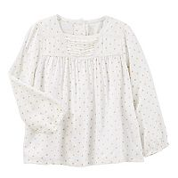 Toddler Girl OshKosh B'gosh® Polka-Dot Swing Top