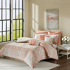 Madison Park 8 pc Addison Duvet Cover Set