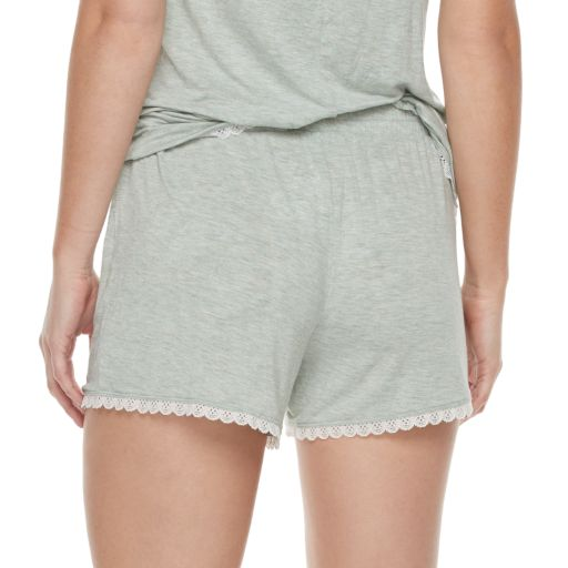 Women's SONOMA Goods for Life™ Pajamas: Essential Scallop Hem Shorts