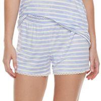 Women's SONOMA Goods for Life™ Pajamas: Essential Scallop Hem Shorts