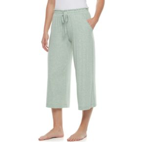 Women's SONOMA Goods for Life™ Wide Leg Lounge Capris