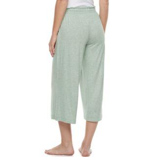 Women's SONOMA Goods for Life™ Wide Leg Lounge Capris