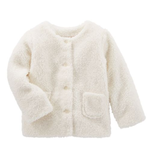 Toddler Girls OshKosh B'gosh® Sherpa Jacket
