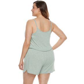 Plus Size SONOMA Goods for Life? Pajamas: Essential Romper