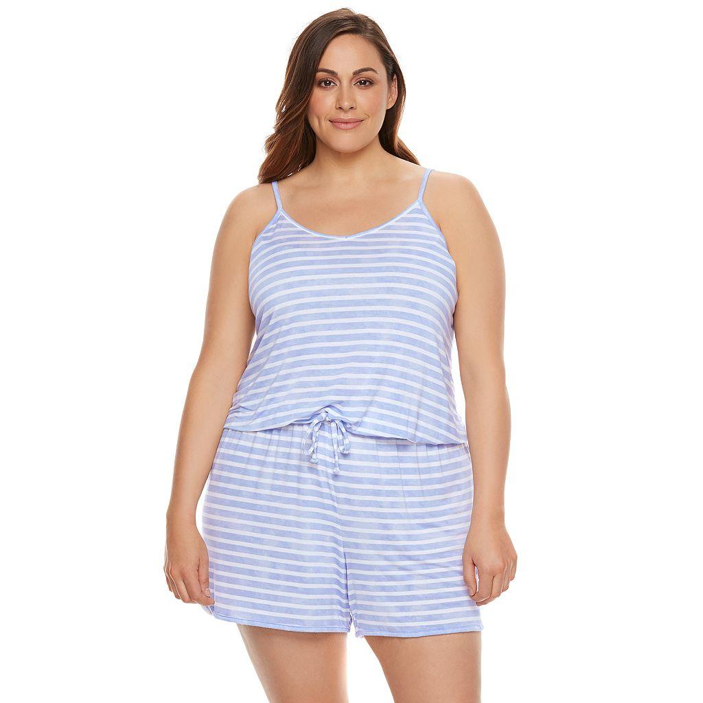 Plus Size SONOMA Goods for Life™ Pajamas: Essential Romper