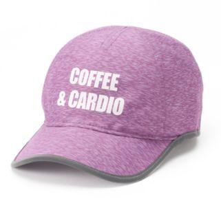"Women's Tek Gear® ""Coffee & Cardio"" Baseball Cap"