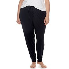 Plus Size SONOMA Goods for Life™ Pajamas: Jogger Pants