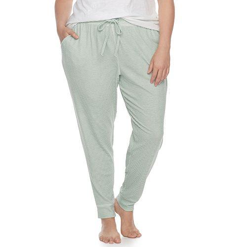 Plus Size SONOMA Goods for Life™ Pajamas: Jogger Pants