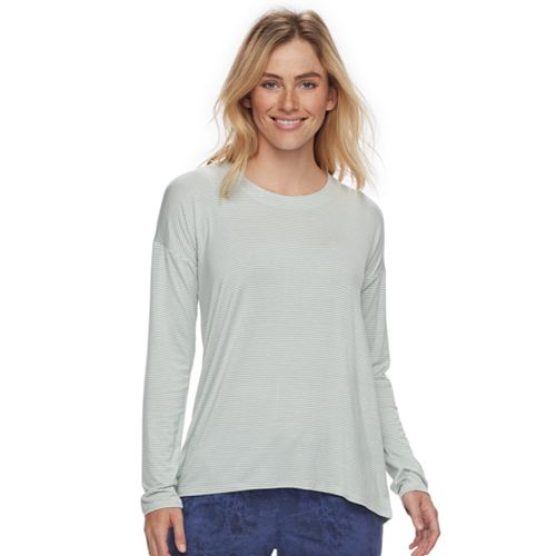Women's SONOMA Goods for Life™ Pajamas: Essential Long Sleeve Tee