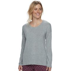 Women's SONOMA Goods for Life™ Pajamas: Essential Long Sleeve Tee