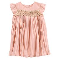 Toddler Girls OshKosh B'gosh® Pleated Dress
