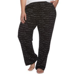 Plus Size SONOMA Goods for Life? Pajamas: Jersey Knit Pants