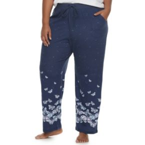 Plus Size SONOMA Goods for Life™ Pajamas: Jersey Knit Pants