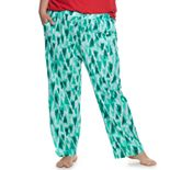 Plus Size SONOMA Goods for Life? Pajama Pants