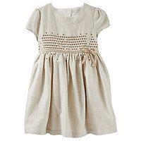 Toddler Girls OshKosh B'gosh® Sequined Flannel Dress