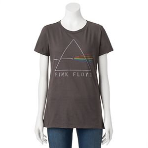 Juniors' Pink Floyd Refracting Prism Graphic Tee